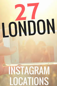 27 locations in london for epic instagrams roaming required