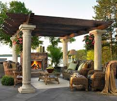 Patio Plans For Inspiration Garden U0026 Outdoor Inspiring Pergola Plans For More Beautiful Yard
