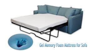 memory foam sofa bed dynastymattress 4 5 inch gel memory foam sofa mattress queen size