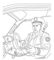 police car coloring pages crafts police station