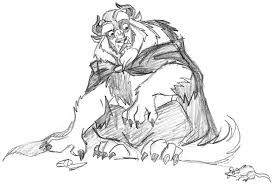 beast is afraid of mice by jesusismyhomie on deviantart