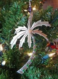 glass palm tree ornament palms