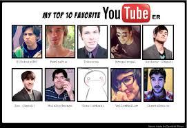 meme fav youtubers by whiteshadow234 on deviantart