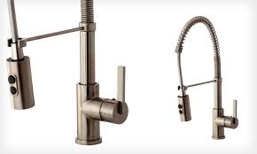 pre rinse kitchen faucet groupon goods