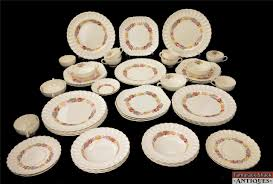 48pc copeland spode briar china set dinner luncheon
