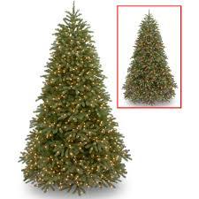 tree 9 foot pre lit tree ft pre lit