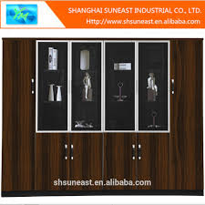 Wood Cabinet Glass Doors by Wood File Cabinet With Glass Door Wood File Cabinet With Glass