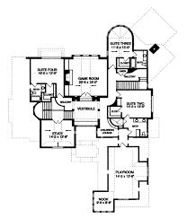 tudor style house plan 4 beds 4 50 baths 5880 sq ft plan 413 837