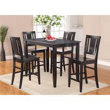 cheap black counter height dining set marble dining room set
