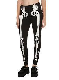 glow in the dark halloween pajamas skeleton glow in the dark leggings topic
