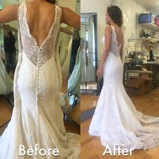 wedding dress alterations cost awesome wedding dress alterations before after wedding dress