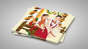 unique indian wedding cards meet deepthi radhakrishnan illustrator marigold tales