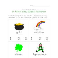st patrick u0027s day worksheets all kids network