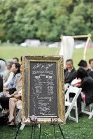 sle of wedding reception program jenn nate golden gardens bathhouse seattle wedding my