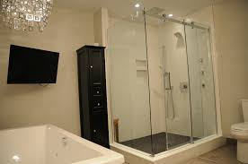 Luxury Master Bathroom Renovation In Mississauga Bathroom Fixtures Mississauga