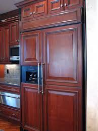 fridge that looks like cabinets why do people do this to their refridgerator