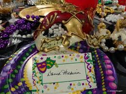 mardi gras table decorations krewe of illusions mardi gras presentation and louisiana