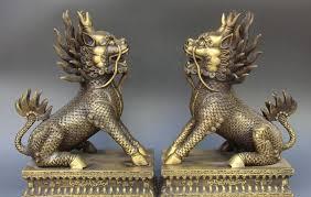 qilin statue 10 china bronze fengshui kylin kirin qilin unicorn