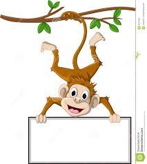 monkey tree clipart 39