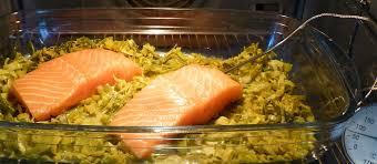 comment cuisiner un poireau saumon cuit à basse température sur lit de poireaux au curry