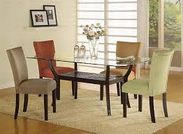 Round Glass Dining Room Table Sets Dining Tables Amazing Glass Top Dining Table Sets Glass Dining