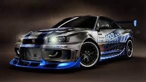 nissan skyline drawing 2 fast 2 furious fast and furious cars wallpapers group 76