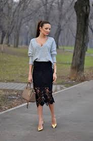 lace skirt how to wear lace skirts fashiongum