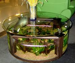 coffee table astounding creative coffee table aquarium india price