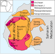 Map Of Africa Quiz by West African Craton Wikipedia