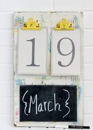 Schlafzimmer Selbst Gestalten Kalender Selbst Gestalten 12 Nützliche Bastelideen Für Wand Und