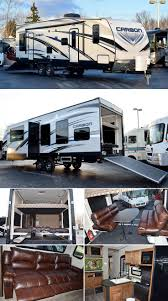 54 best toy haulers images on pinterest travel trailers toy