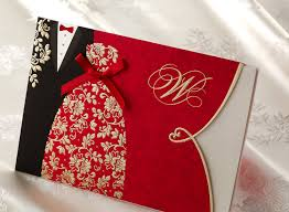 asian wedding invitations personalized asian style groom embossed