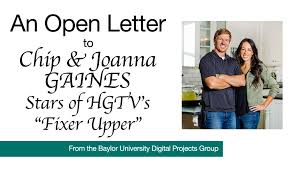 Joanna Gaines Facebook The Bu Libraries Digital Collections Blog An Open Letter To Chip
