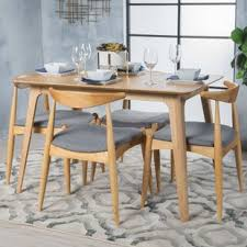 Mid Century Dining Table And Chairs Modern Mid Century Dining Room Sets Allmodern