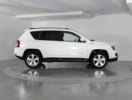 white jeep compass used 2016 jeep compass latitude 4wd suv for sale in west palm fl