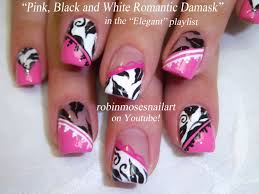15 pink and white nail design 50 lovely pink and white nail art