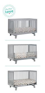 Babyletto Hudson Convertible Crib The Babyletto Hudson 3 In 1 Convertible Crib Converts To A Toddler