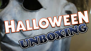 halloween unboxing michael myers mask more youtube