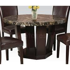 Marble Dining Room Sets Table Round Marble Dining Set Room Galiana Veneer Sets Small Top