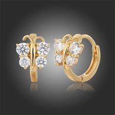 baby earings 5 colors baby small circles huggies hoop earrings gold