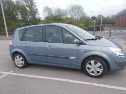 renault scenic 2006 117 550 miles manual 1 6l petrol in