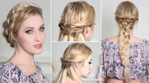 boho chic hairstyles for everyday party prom wedding medium
