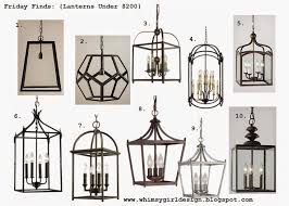 Hanging Light Fixtures For Kitchen Best 25 Lantern Chandelier Ideas On Pinterest Lantern Lighting