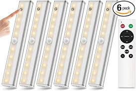 battery led lights for kitchen cabinets remote cabinet lights 6 pack 20 led wireless cabinet lighting battery operated closet light stick on dimmable touch sensor