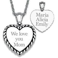Necklace With Children S Names 118 Best Mothers Necklace With Kids Names Images On Pinterest