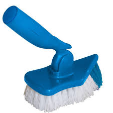 unger pro unger pro swivel and scrub brush 965700 the home depot