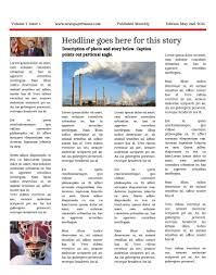 free newsletter templates print and digital makemynewspaper com