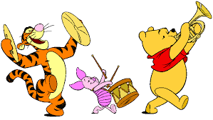 winnie pooh group clipart