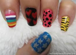 real asian beauty super junior mr simple inspired nail art