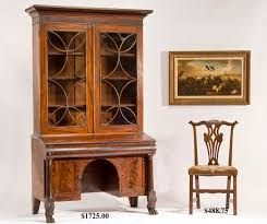 Chippendale Secretary Desk by Hap Moore Antiques Auctions September 26 2009